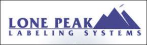Lone Peak Labeling Systems Logo